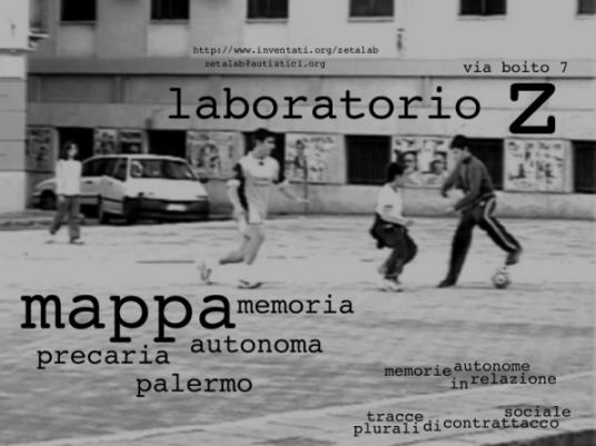 mappa: memoria autonoma precaria palermo